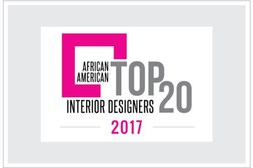 AATop20 2017 African American Top 20 Interior Designers